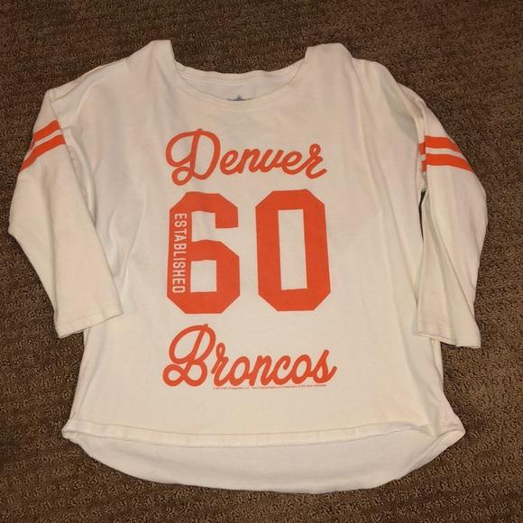 Girls Denver Broncos Shirt